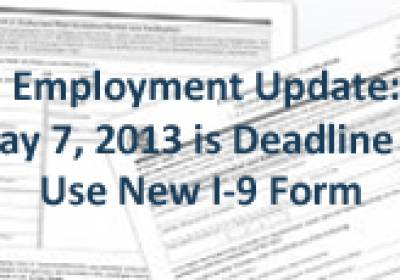 Employment Law I-9 Update HunterMaclean