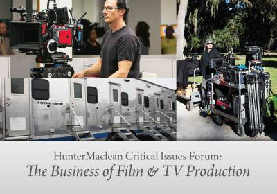 HunterMaclean Critical Issues Forum on Film and Television Production - Cover Image